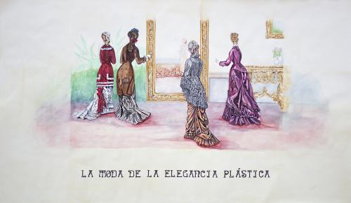 La moda de la elegancia plástica
